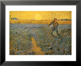 The Sower, 1888 Láminas por Vincent van Gogh