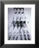 Dreifacher Elvis, 1963 Poster von Andy Warhol