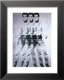 Triple Elvis, 1963 Poster by Andy Warhol