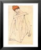 Die Tanzerin Prints by Egon Schiele
