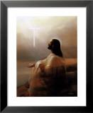 Spirit of the Savior Print by David Jean