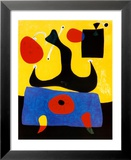 Femme Assise Art by Joan Miró