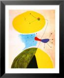 Porträt Kunstdruck von Joan Miró