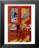 Large Red Interior, 1948 Plakater av Henri Matisse