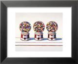 Three Machines, 1963 Stampe di Wayne Thiebaud