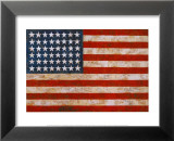 Flag, 1954-55 Print by Jasper Johns