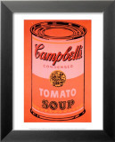 Campbell's Soup Can, c.1965 (Orange) Poster von Andy Warhol