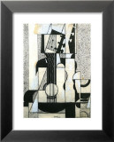 Still Life with Guitar Poster by Juan Gris