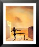 The Ghost of Vermeer Kunstdruck von Salvador Dalí