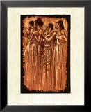 Sœurs spirituelles Posters par Monica Stewart