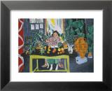 Interior with an Etruscan Vase, c.1940 Print van Henri Matisse