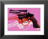 Gun, c.1981-82 Konst av Andy Warhol
