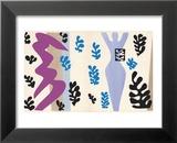 The Knife Thrower, pl. XV from Jazz, c.1943 Schilderijen van Henri Matisse