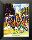 Victory on the Champs-Elysees Poster von Malcolm Farley