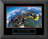 Success: Skydivers Plakat