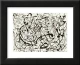 Nr. 14 (Grau) Kunstdrucke von Jackson Pollock