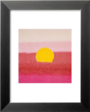 Sunset, c.1972 40/40 (pink) Print van Andy Warhol