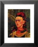 Self Portrait with a Monkey, c.1940 Kunst van Frida Kahlo