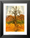 Dead Pinon Tree Lámina por Georgia O'Keeffe