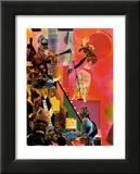 The Blues Art par Romare Bearden
