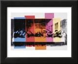 Laatste avondmaal (detail), ca. 1986 Schilderijen van Andy Warhol