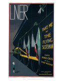 Take Me by The Flying Scotsman Plakat