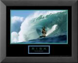 Risk: Surfer Poster