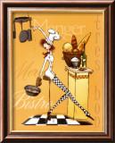 Sassy Chef III Art by Mara Kinsley