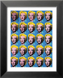 Twenty-Five Colored Marilyns, 1962 Kunstdrucke von Andy Warhol