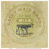 Dairy Maid Brand Stampe di Eric Gillett