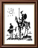 Don Quixote, ca. 1955 Poster von Pablo Picasso