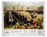 Trooping the Colour London ポスター