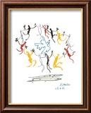 Der Reigen Poster von Pablo Picasso