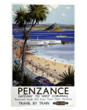 Penzance Gateway to West Cornwall Prints