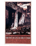 Newcastle Engraving Posters
