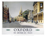 Oxford Middle of Road Prints