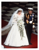 Charles and Diana Poster