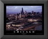 Chicago: Soldier Field, Chicago Bears Kunst av Mike Smith