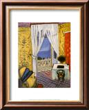 Interieur mit Geigenkasten Poster von Henri Matisse