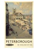Peterborough View of Market Arte