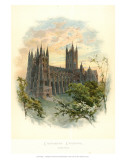 Canterbury Cathedral, South West Posters par Arthur Wilde Parsons