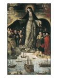 The Virgin of the Navigators Posters tekijänä Alejo Fernandez