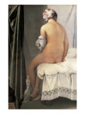 The Valpinçon Bather (La Baigneuse, Dite La Baigneuse De Valpinçon) Plakater af Jean-Auguste-Dominique Ingres