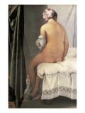 The Valpinçon Bather (La Baigneuse, Dite La Baigneuse De Valpinçon) Plakater af Jean-Auguste-Dominique Ingres