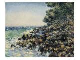 The Cape Martin Poster por Claude Monet