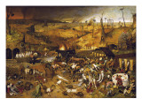 The Triumph of Death Plakat af Pieter Bruegel the Elder