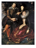 Rubens and Isabella Brant in the Honeysuckle Bower Prints by Peter Paul Rubens
