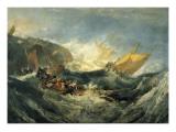 The Shipwreck of the Minotaur 高画質プリント : ウィリアム・ターナー