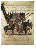 """The Maqamat"" (The Assemblies of Al-Hariri), Characteristic Genre of the Medieval Arabic Literature Poster af Yahya ibn Mahmud Al-Wasiti"