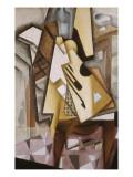 Guitar on a Chair Posters por Juan Gris